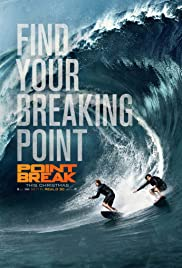 Point Break (2015) cover