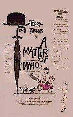 A Matter of WHO (1961) cover