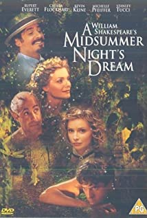 A Midsummer Night's Dream (1999) cover