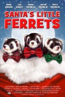 Santa's Little Ferrets 2014 poster