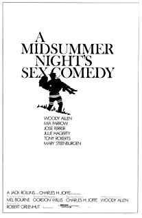 A Midsummer Night's Sex Comedy (1982) cover