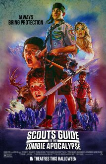 Scouts Guide to the Zombie Apocalypse (2015) cover