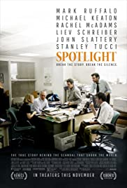 Spotlight (2015) cover