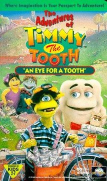 The Adventures of Timmy the Tooth: An Eye for a Tooth 1995 poster