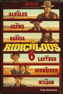 The Ridiculous 6 (2015) cover