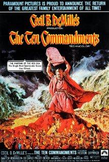 The Ten Commandments (1956) cover