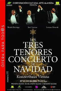 The Three Tenors Christmas (1999) cover
