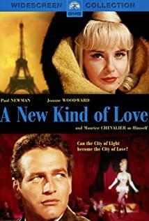 A New Kind of Love (1963) cover