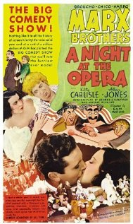 A Night at the Opera 1935 poster
