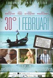 30° i februari (2012) cover
