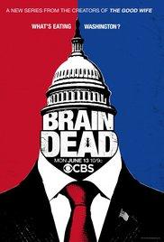 BrainDead (2016) cover