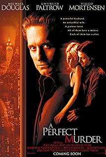 A Perfect Murder (1998) cover