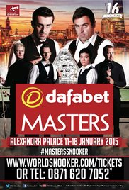Masters Snooker 1975 poster