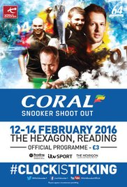 Snooker Shoot-Out 2011 poster