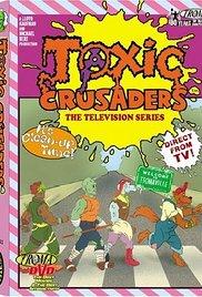Toxic Crusaders 1991 poster