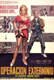 A 008 operazione sterminio (1965) cover