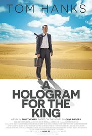 A Hologram for the King 2016 poster