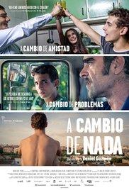 A cambio de nada (2015) cover