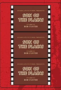 A Son of the Plains (1931) cover
