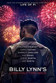 Billy Lynn's Long Halftime Walk (2016) cover