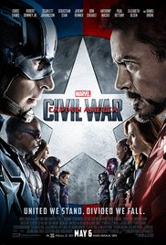 Captain America: Civil War (2016) cover