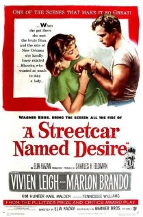 A Streetcar Named Desire (1951) cover