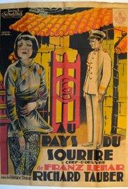 Das Land des Lächelns (1930) cover