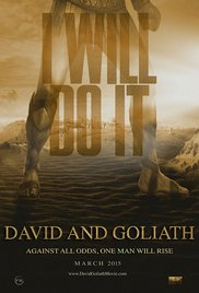 David and Goliath (2015) cover