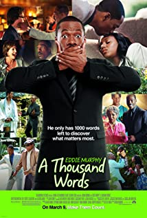 A Thousand Words (2012) cover