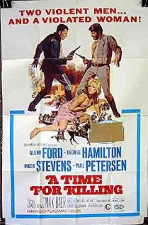A Time for Killing (1967) cover