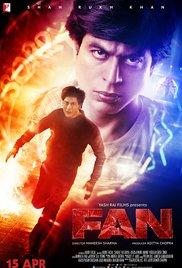 Fan (2016) cover
