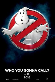 Ghostbusters (2016) cover