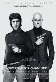 Grimsby (2016) cover