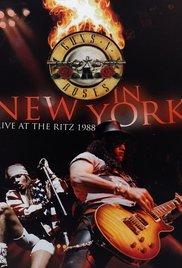 Guns N Roses: Live at the Ritz 1988 poster