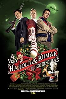 A Very Harold & Kumar 3D Christmas 2011 poster