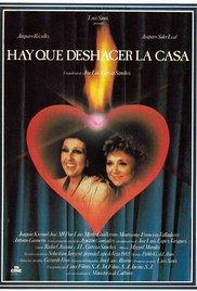 Hay que deshacer la casa 1986 poster