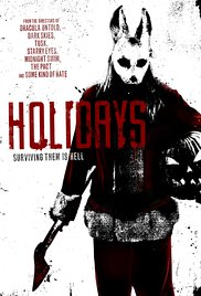 Holidays (2016) cover