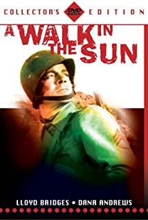 A Walk in the Sun (1945) cover
