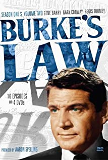 Burke's Law (1963) cover