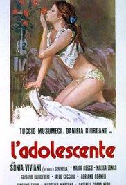 L'adolescente 1976 poster