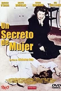 A Woman's Secret 1949 poster
