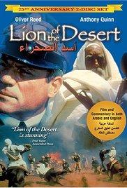 Lion of the Desert (1980) cover