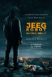 Lo chiamavano Jeeg Robot (2015) cover