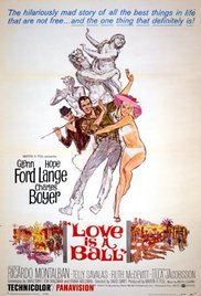 Love Is a Ball 1963 poster