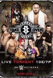NXT TakeOver: Dallas (2016) cover
