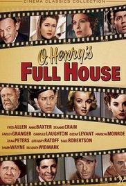 O. Henry's Full House 1952 poster
