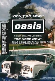 Oasis: Don't Go Away (1997) cover