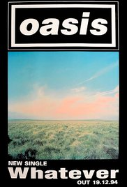 Oasis: Whatever 1994 poster