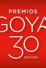 Premios Goya 30 edición (2016) cover