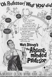 The Absent Minded Professor (1961) cover